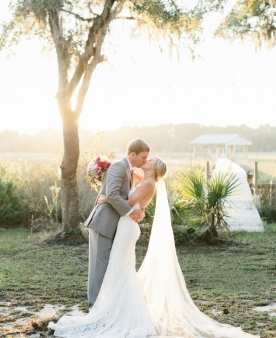 """Image by Natalie Franke at RiverOaks Charleston // wedding design by RiverOaks Charleston // featured in the fall/winter 2016 issue // see """"Color Them Happy"""" above"""